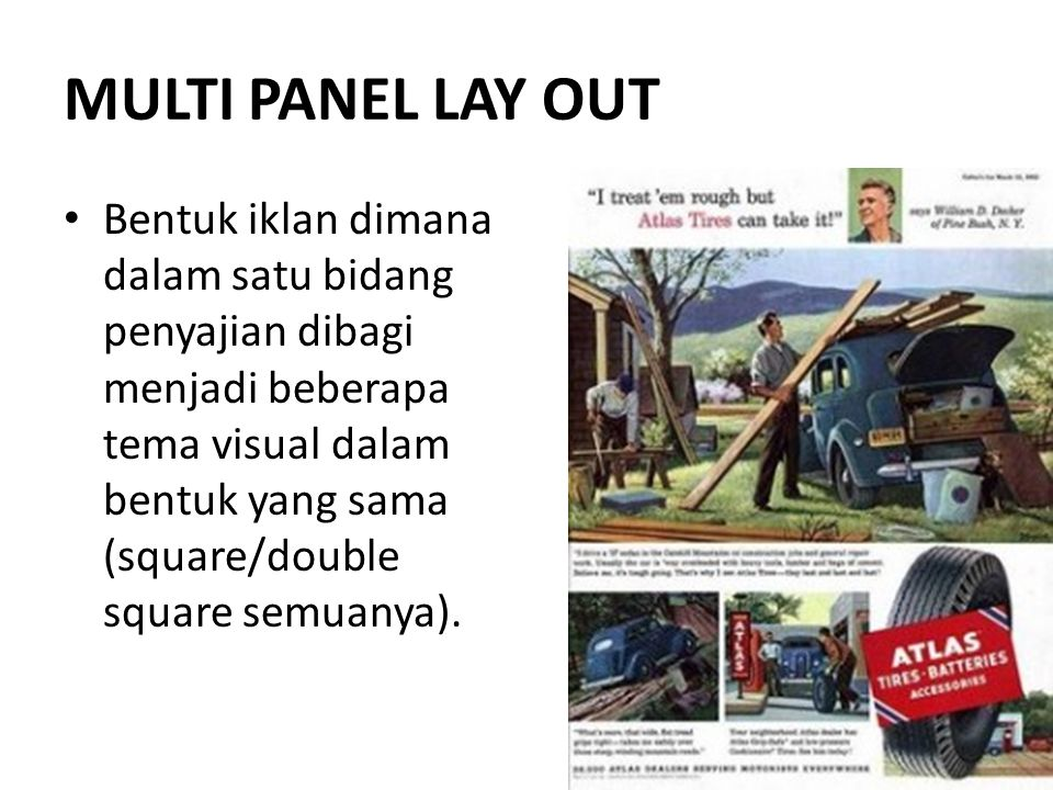 MULTI PANEL LAY OUT