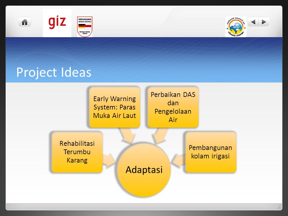 Project Ideas Adaptasi Rehabilitasi Terumbu Karang
