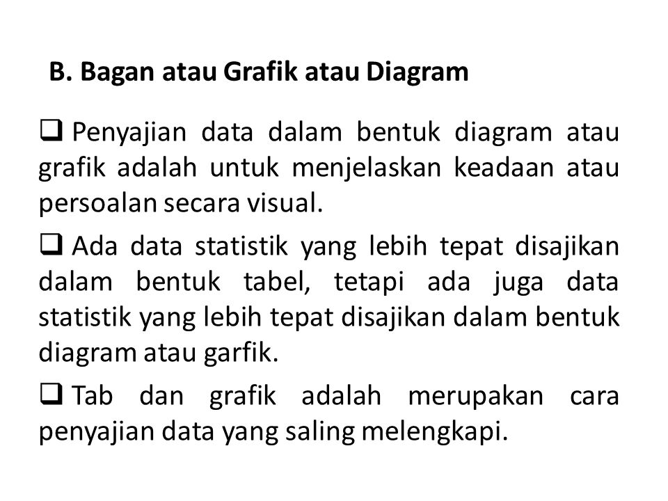 B bagan atau grafik atau diagram ppt download b bagan atau grafik atau diagram ccuart Images