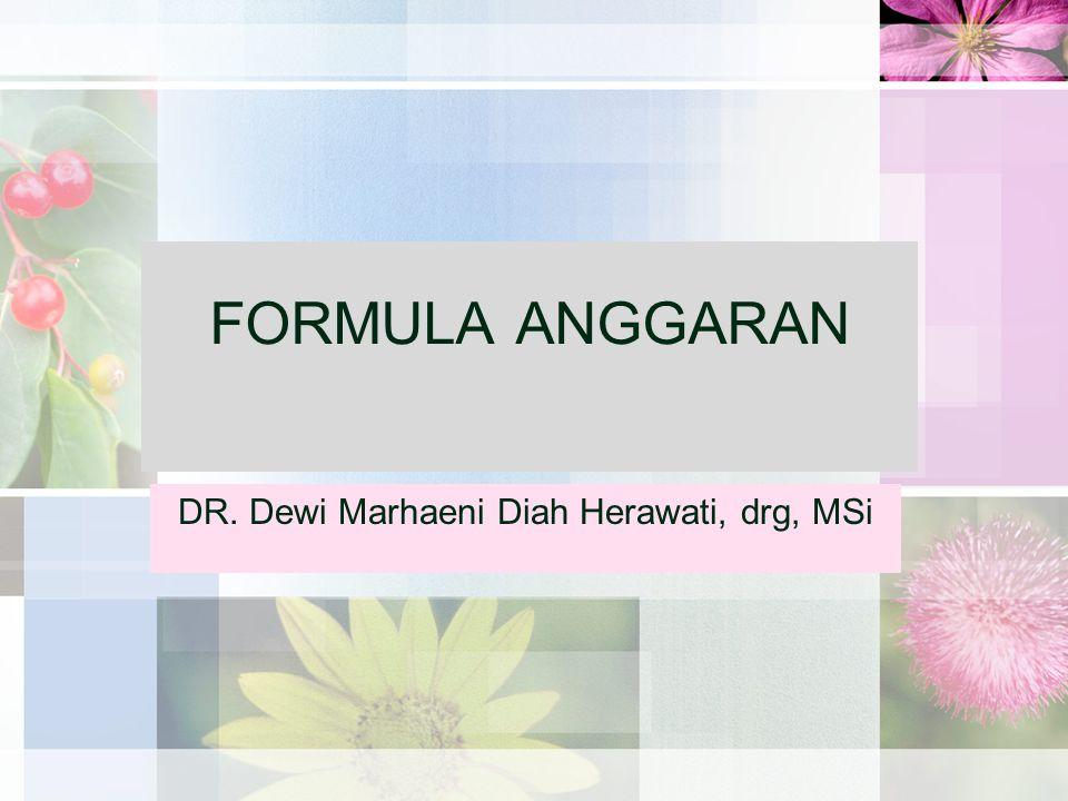 DR. Dewi Marhaeni Diah Herawati, drg, MSi