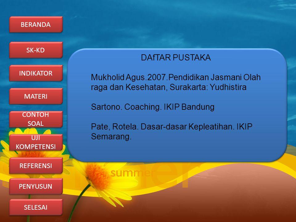 Sartono. Coaching. IKIP Bandung