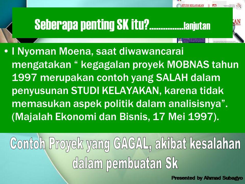 Seberapa penting SK itu ...............lanjutan