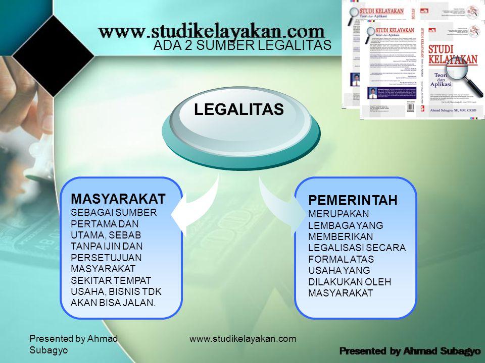 LEGALITAS ADA 2 SUMBER LEGALITAS