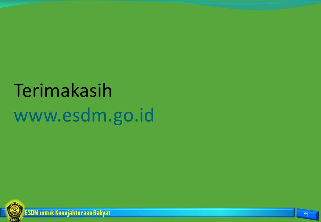 Terimakasih www.esdm.go.id
