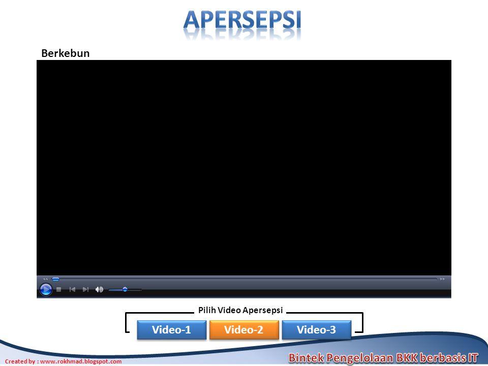 apersepsi Berkebun Pilih Video Apersepsi Video-1 Video-2 Video-3