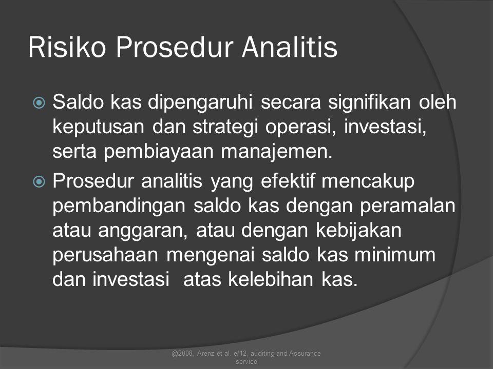 Risiko Prosedur Analitis