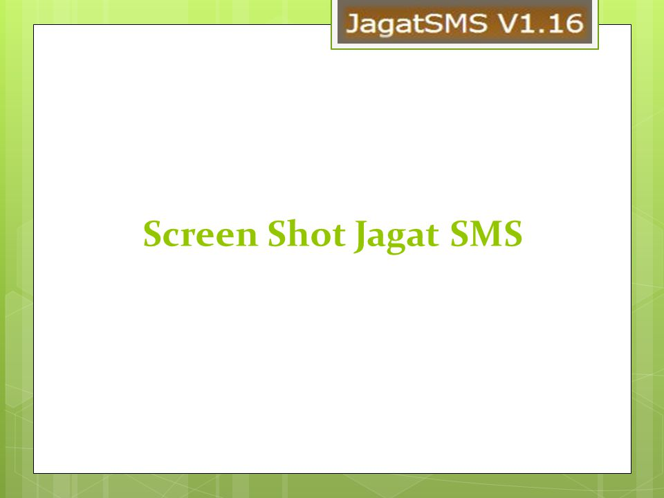 Screen Shot Jagat SMS
