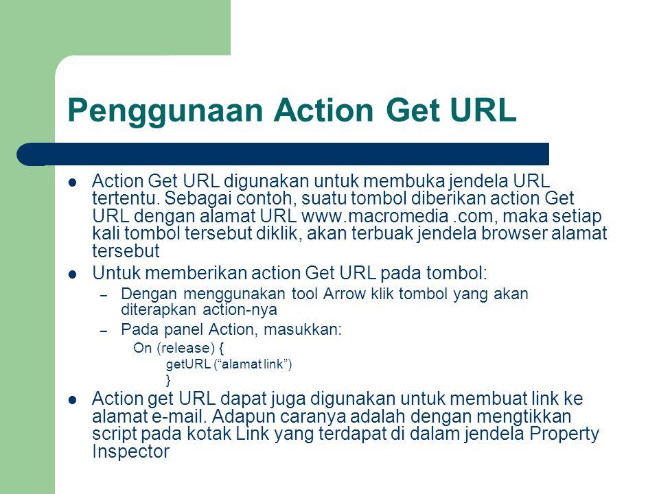 Penggunaan Action Get URL