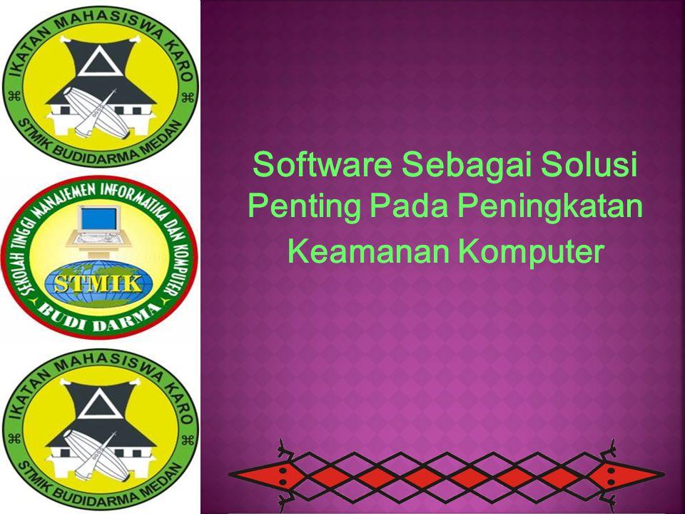 Software Sebagai Solusi Penting Pada Peningkatan