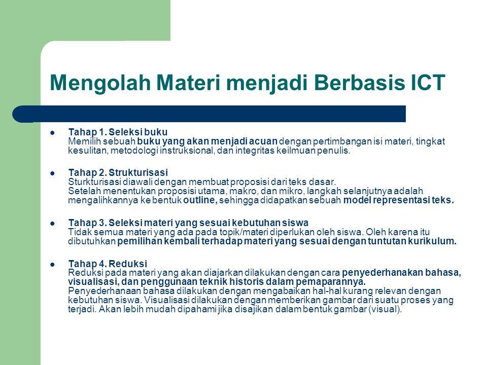 Mengolah Materi menjadi Berbasis ICT
