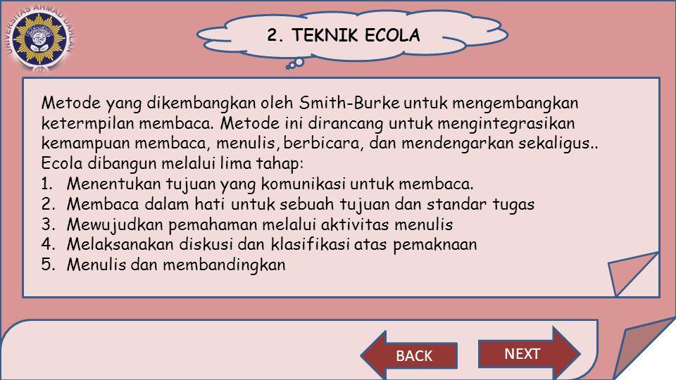 2. TEKNIK ECOLA