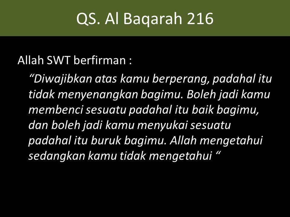QS. Al Baqarah 216