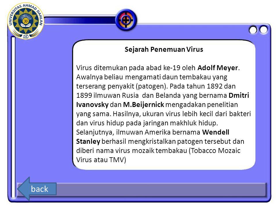 Sejarah Penemuan Virus