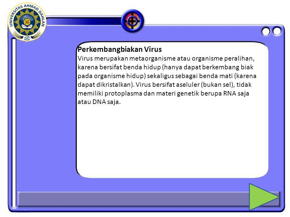 Perkembangbiakan Virus