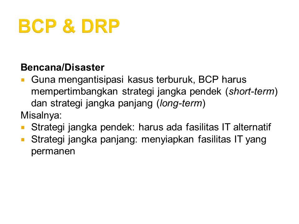 BCP & DRP Bencana/Disaster