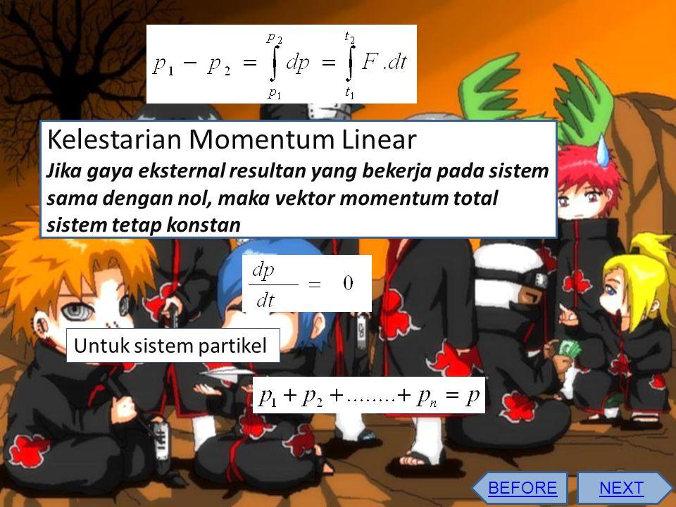 Kelestarian Momentum Linear