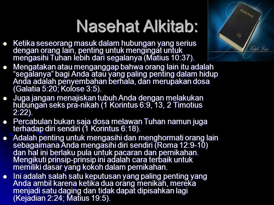 Nasehat Alkitab: