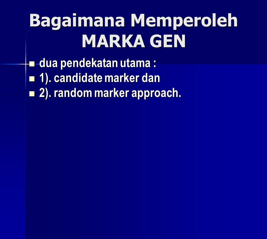 Bagaimana Memperoleh MARKA GEN