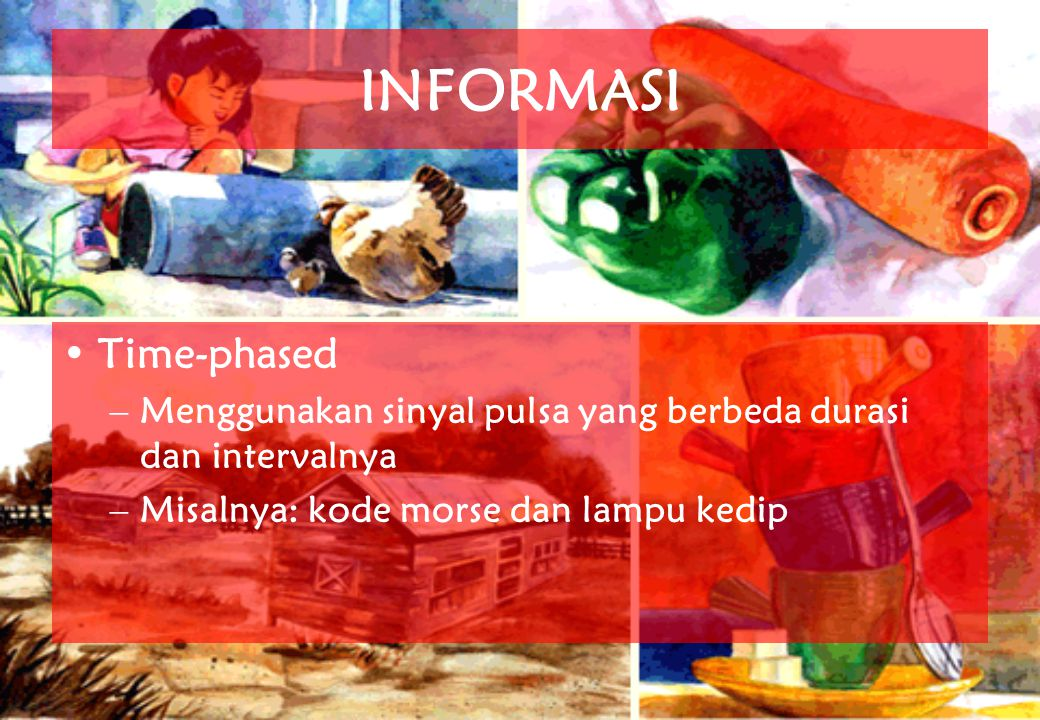 INFORMASI Time-phased
