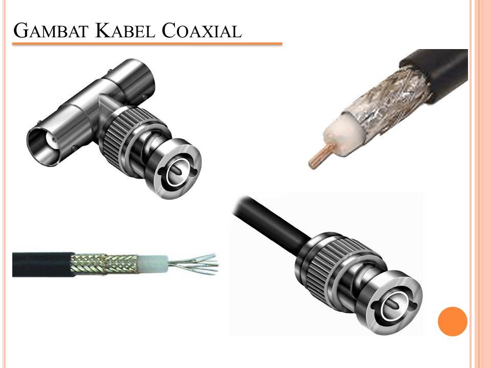 Gambat Kabel Coaxial