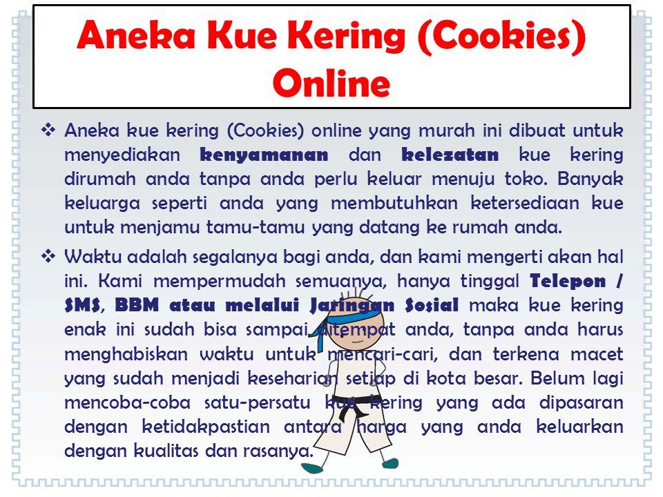 Aneka Kue Kering (Cookies) Online