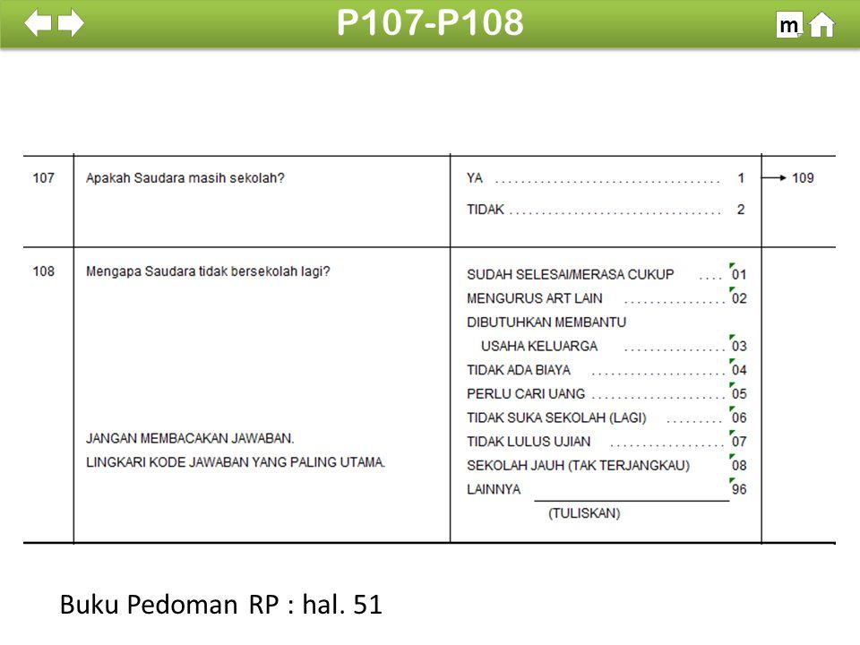 P107-P108 m SDKI 2012 100% Buku Pedoman RP : hal. 51
