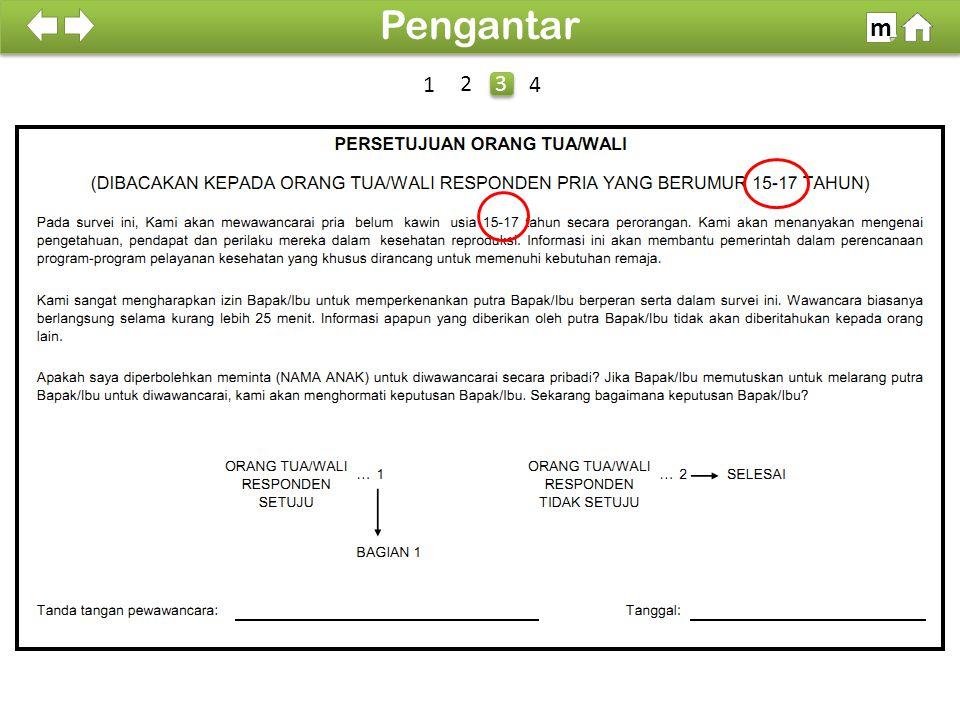Pengantar m SDKI 2012 100% 1 2 3 4