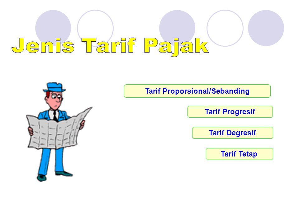 Tarif Proporsional/Sebanding