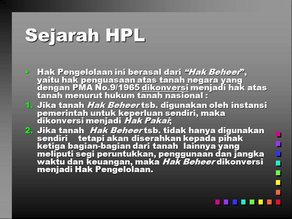 Sejarah HPL