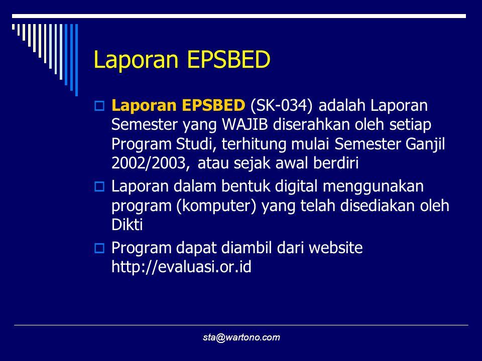Laporan EPSBED