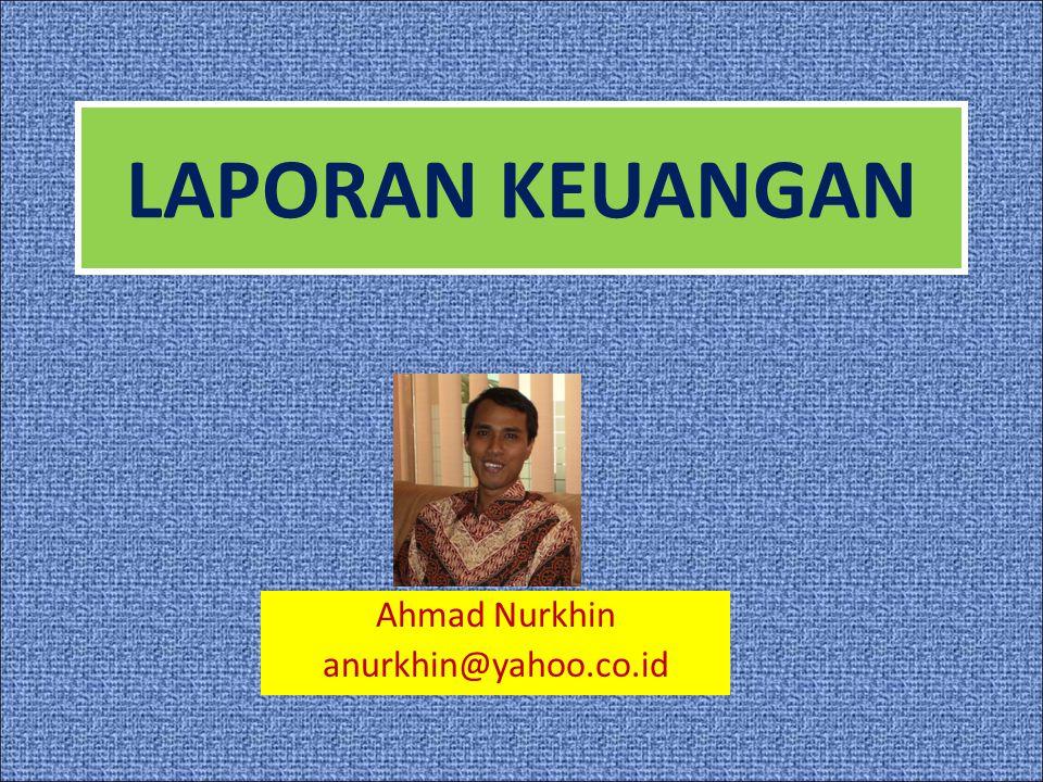 Ahmad Nurkhin anurkhin@yahoo.co.id