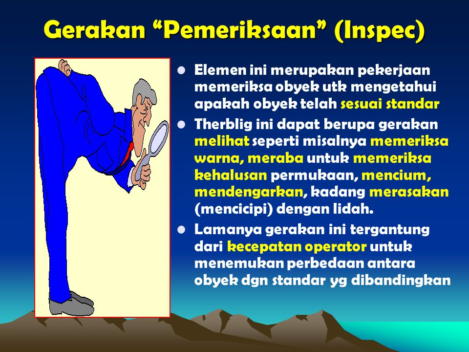 Gerakan Pemeriksaan (Inspec)