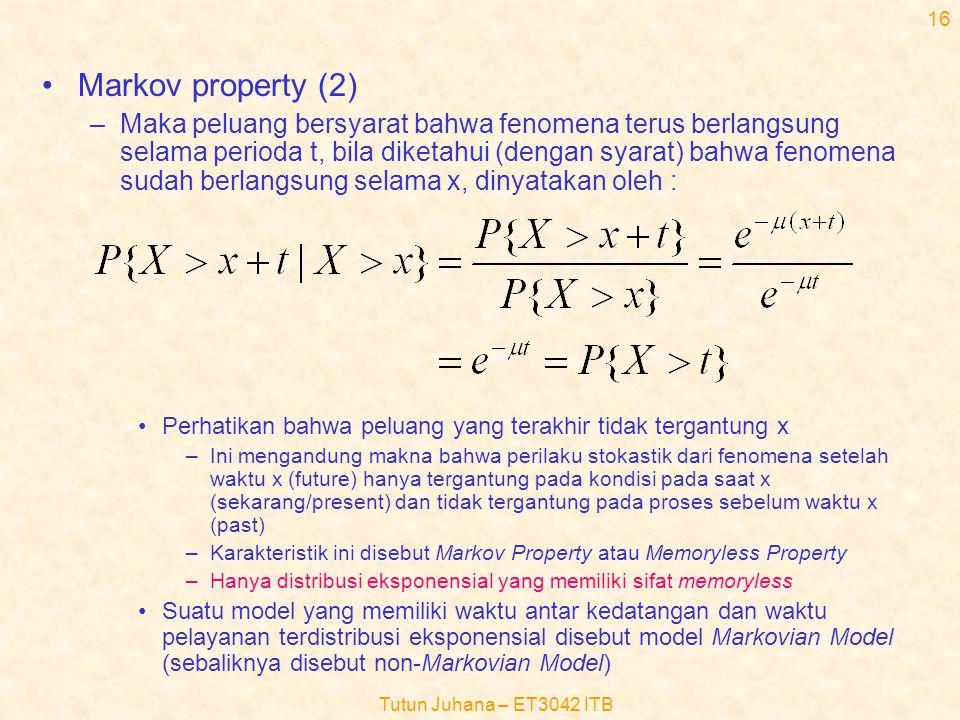 Markov property (2)