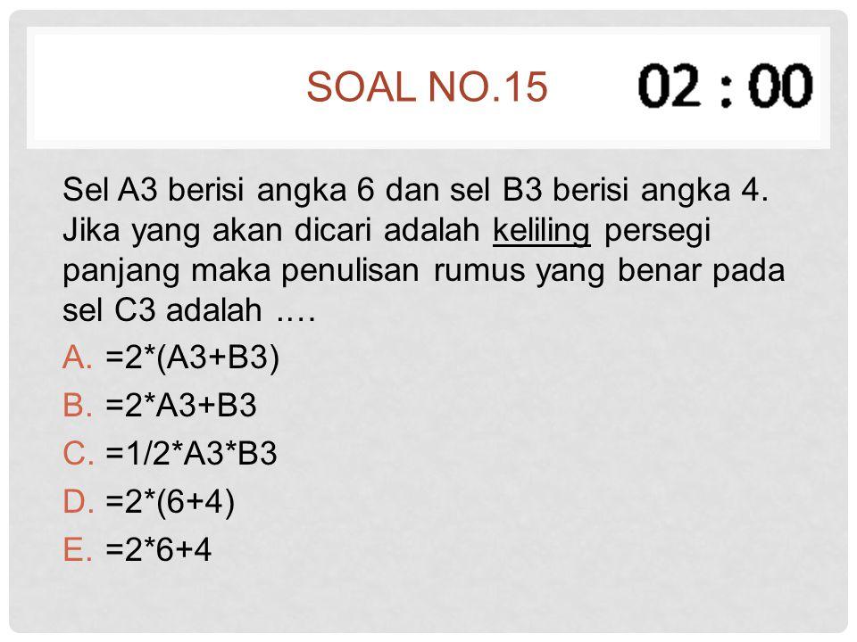 Soal no.15
