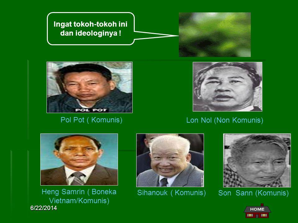Ingat tokoh-tokoh ini dan ideologinya !