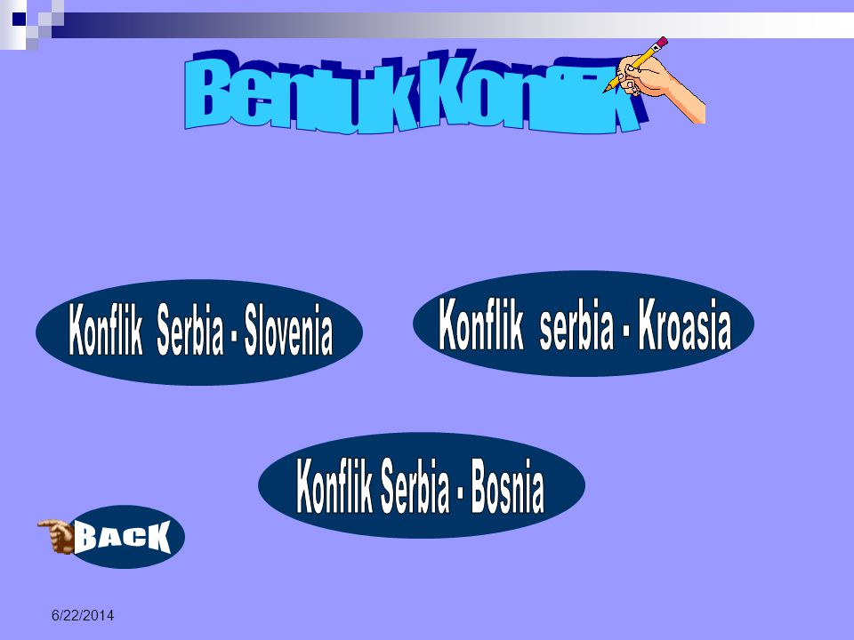 Konflik serbia - Kroasia Konflik Serbia - Slovenia
