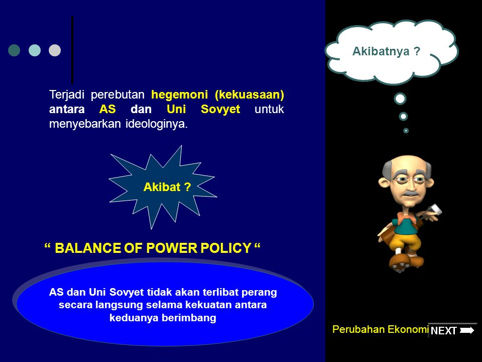 BALANCE OF POWER POLICY