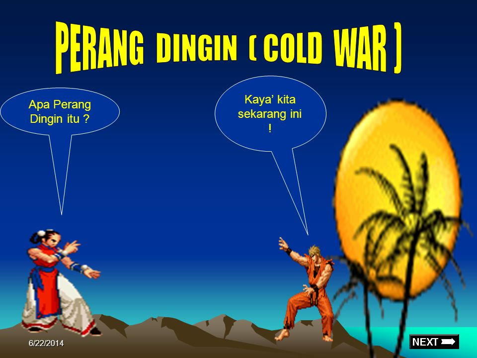 PERANG DINGIN ( COLD WAR )