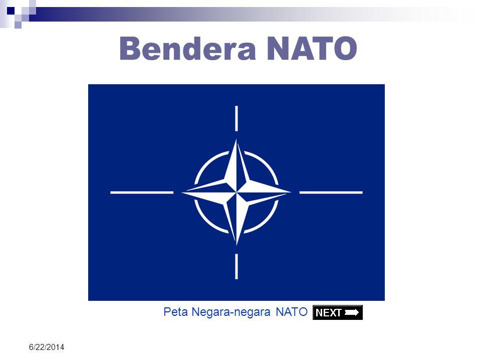 Bendera NATO Peta Negara-negara NATO 4/3/2017