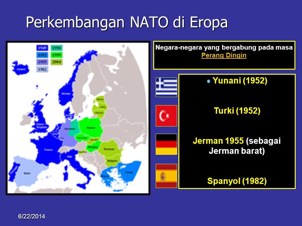 Perkembangan NATO di Eropa