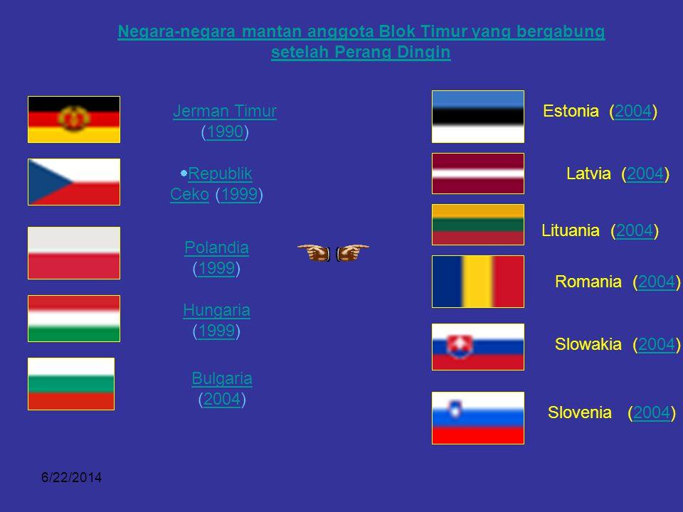 Negara-negara mantan anggota Blok Timur yang bergabung setelah Perang Dingin