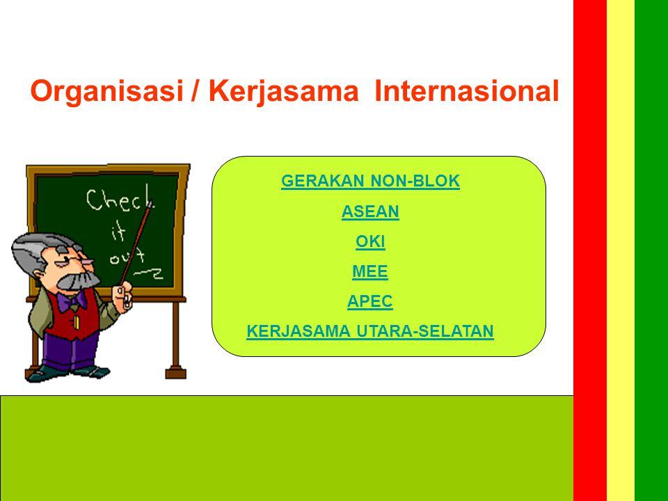 Organisasi / Kerjasama Internasional