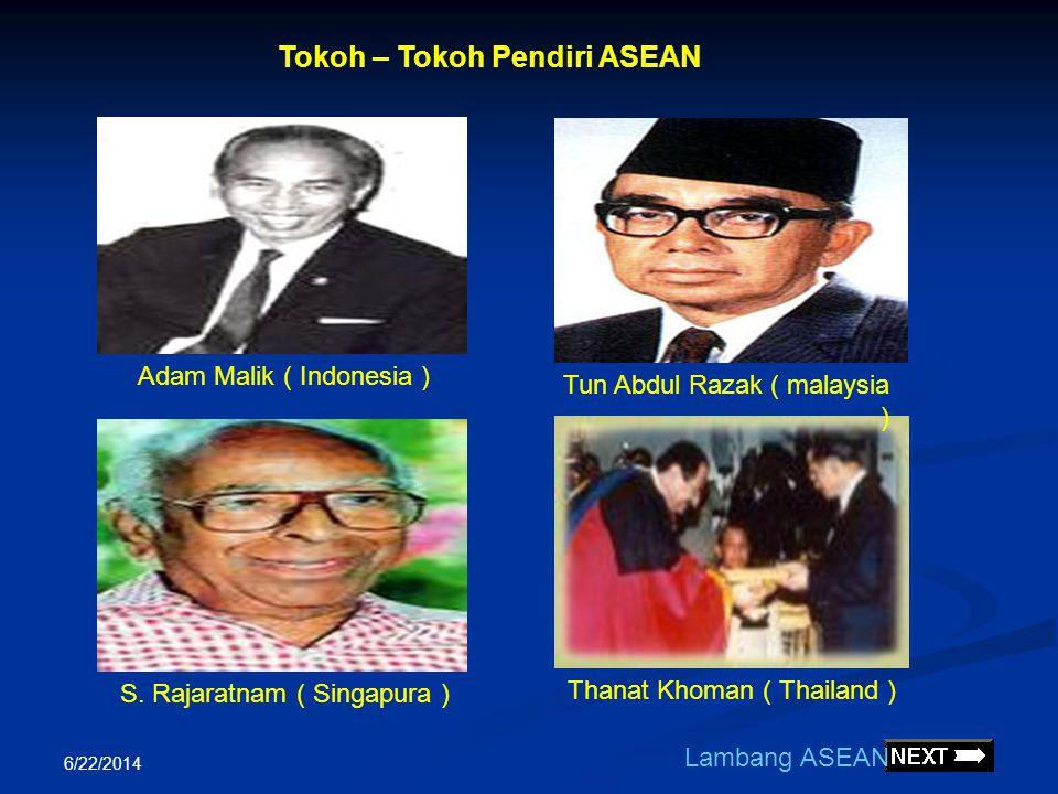 Tokoh – Tokoh Pendiri ASEAN