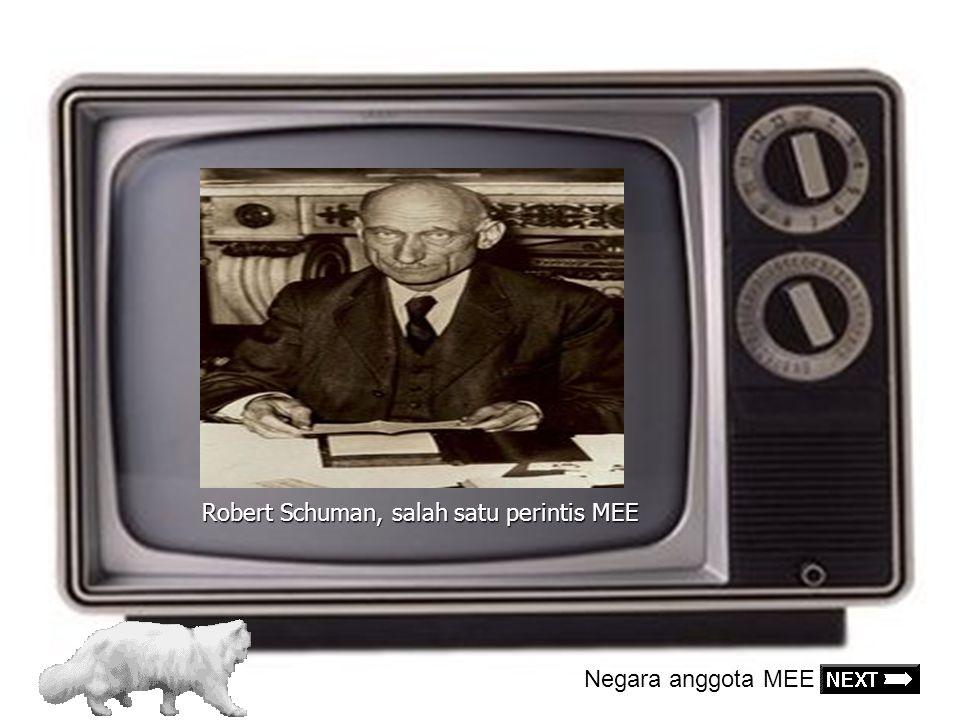 Robert Schuman, salah satu perintis MEE