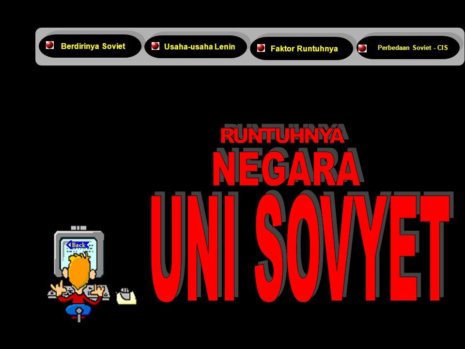 RUNTUHNYA NEGARA UNI SOVYET 4/3/2017 Berdirinya Soviet