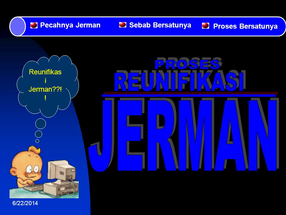 PROSES REUNIFIKASI JERMAN Pecahnya Jerman Sebab Bersatunya