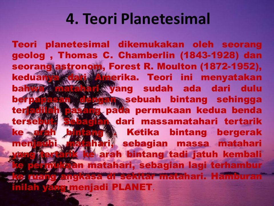 4. Teori Planetesimal