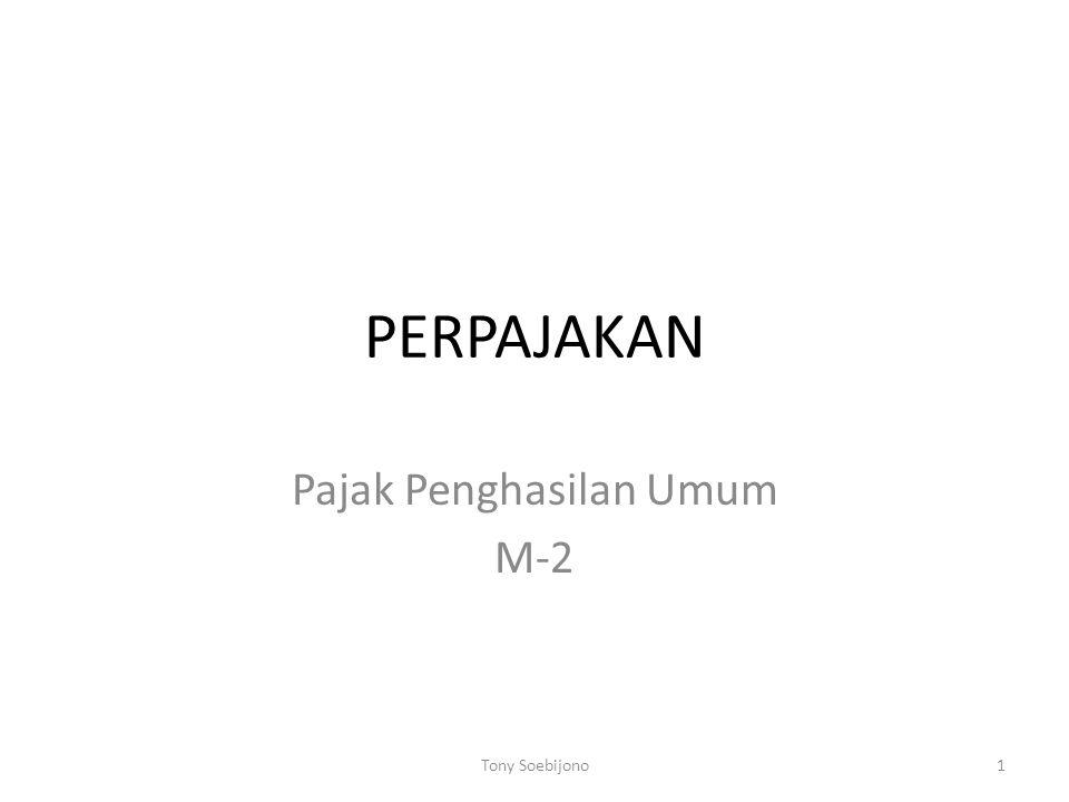 Pajak Penghasilan Umum M-2
