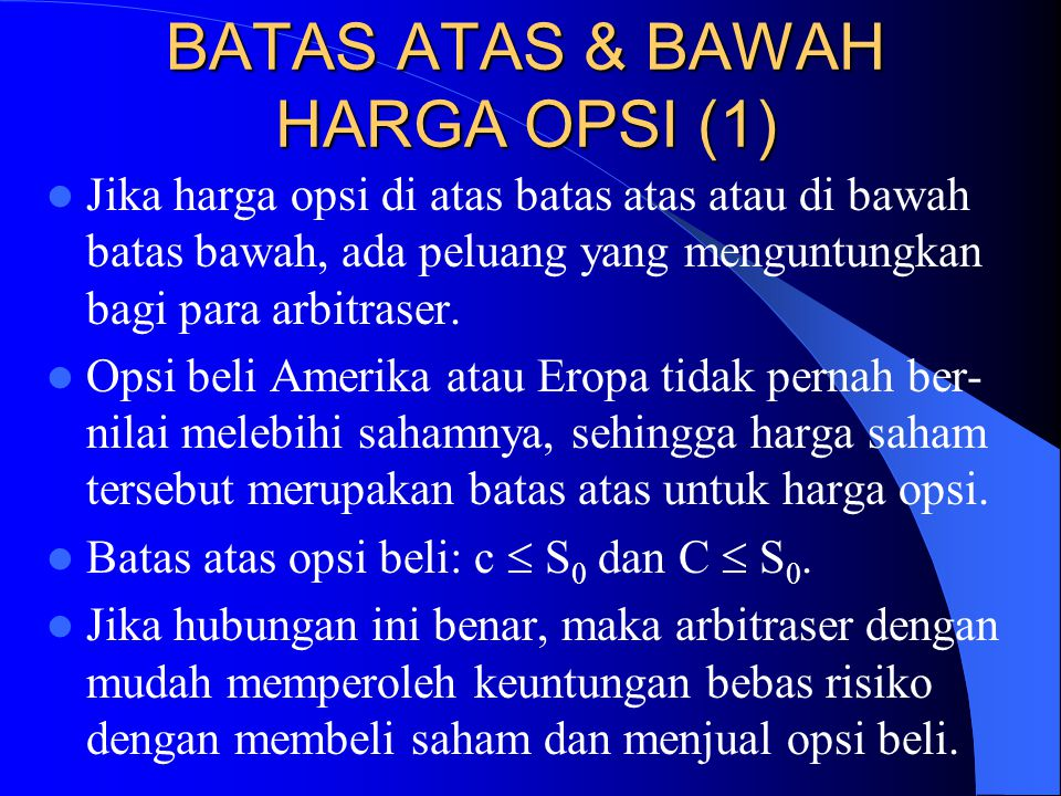 BATAS ATAS & BAWAH HARGA OPSI (1)