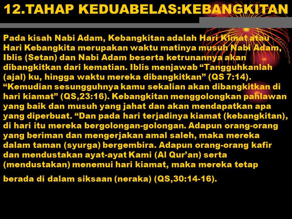 12.TAHAP KEDUABELAS:KEBANGKITAN